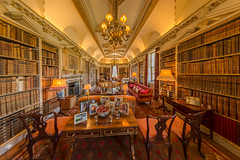 The Library Holkham Hall
