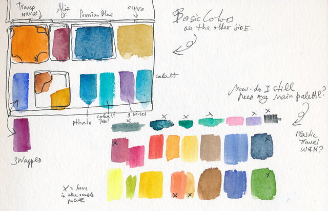 Sketchbook #95: Palette Decisions