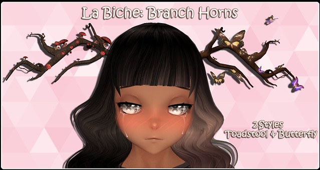 La Biche: Branch Horns