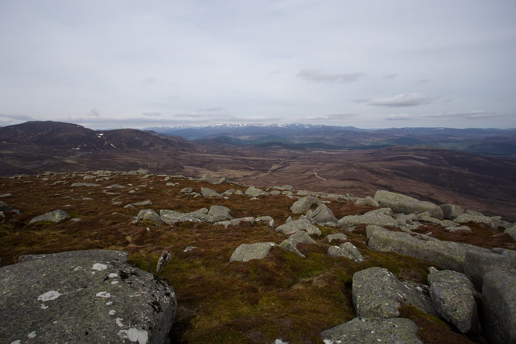 Cairngorms from Caisteal na Caillich