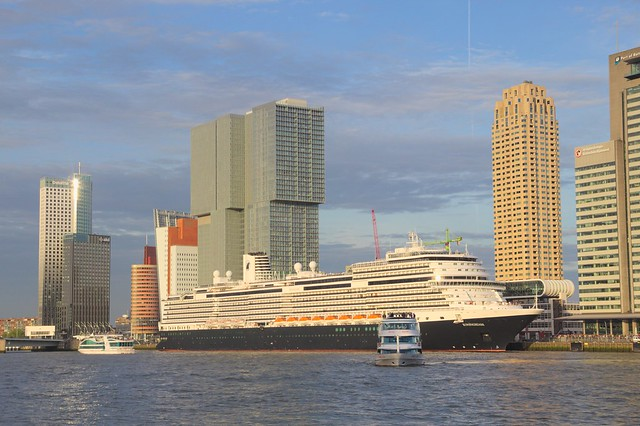 HAL ms Koningsdam in Rotterdam for the first time