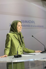 Maryam Rajavi at the Ramadan meeting in solidarity with the Syrian Revolution (8)