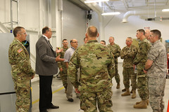 CERDEC showcases S&T for Army War College visit