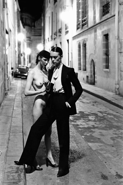 YSL, French Vogue, Rue Aubriot, Paris 1975 baja