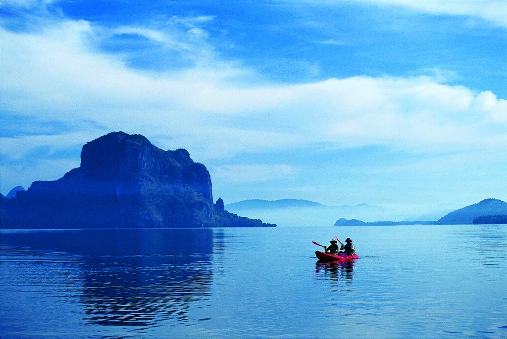 31. El Nido Resorts Activities - Kayaking at Bacuit Bay
