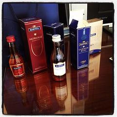Martell Cognacs