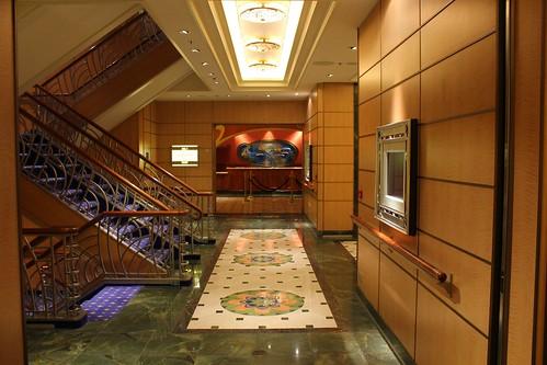 Disney Fantasy Atrium stairs