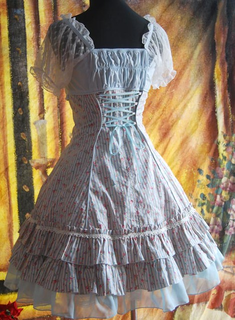 Infanta_Summer_Sail_A_Line_Printed_Cotton_Lolita_Dress_2