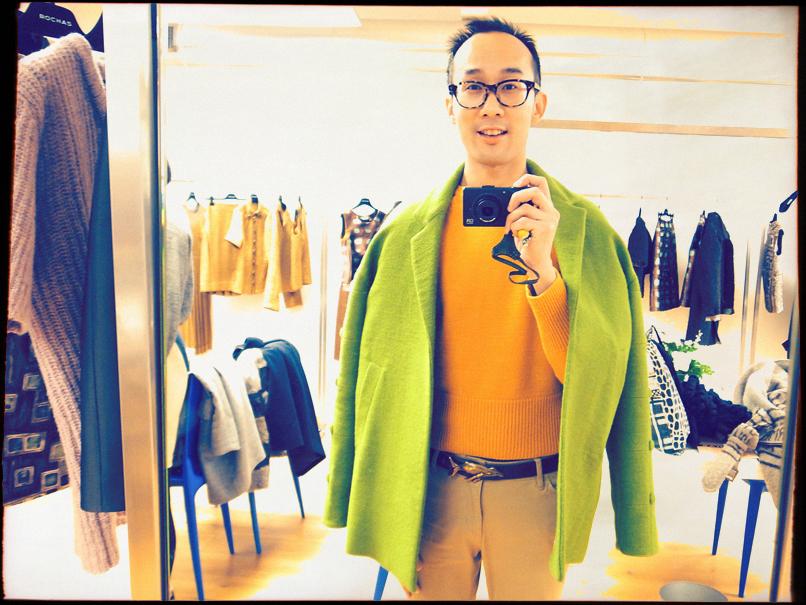 green coat 2