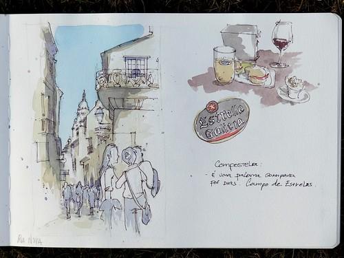 Santiago de Compostela - Rua Nova