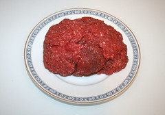 05 - Zutat Rinderhack / Ingredient beef ground meat