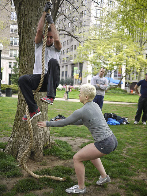 rope climbing workshop