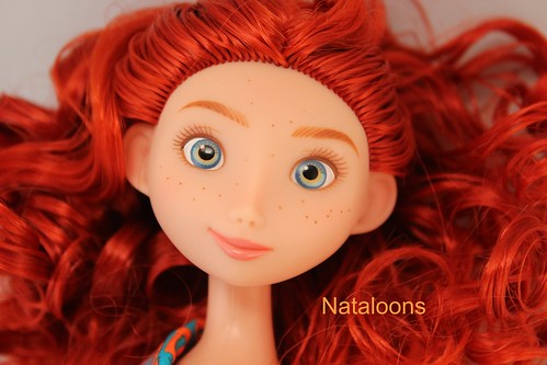 Disney Store Merida Doll