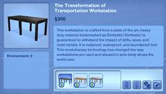 The Transformation of Transportation Workstation