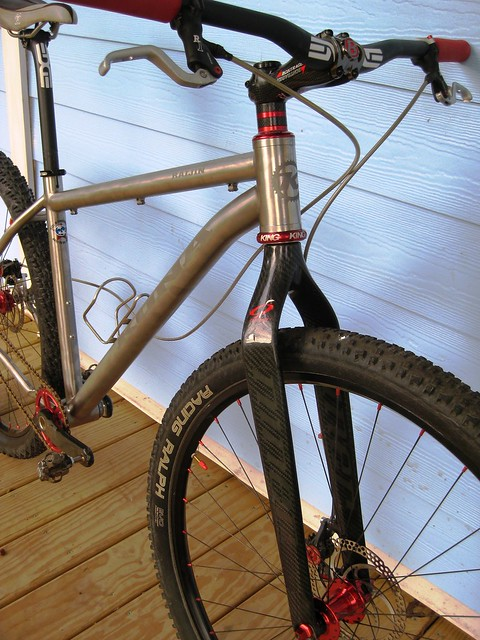 Tapered Head Tube With Non Tapered Fork Mtbr Com