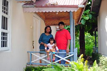 Smita, Rianna & Myself at Tuskers Den Resort