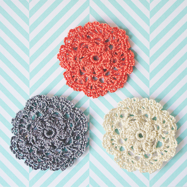 classic doily pins