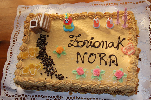 Nora's Third Birthday Cake