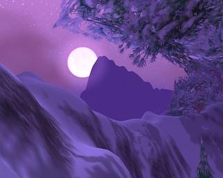 Winterspring Moonrise