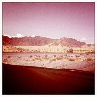 road to vegas from LA-desert 4