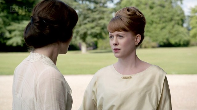 DowntonAbbeyS02E03_Lavinia_hair