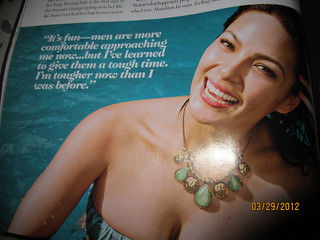 KC Concepcion -- Cosmopolitan Philippines March 2012