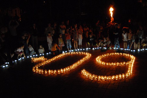 Earth Hour Guirlande 30