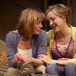 Geneva Carr and Donna Bullock in Huntington Theatre Company's Rabbit Hole at the Boston University Theatre. Part of the 2006-2007 season. Photo: Eric Antoniou.