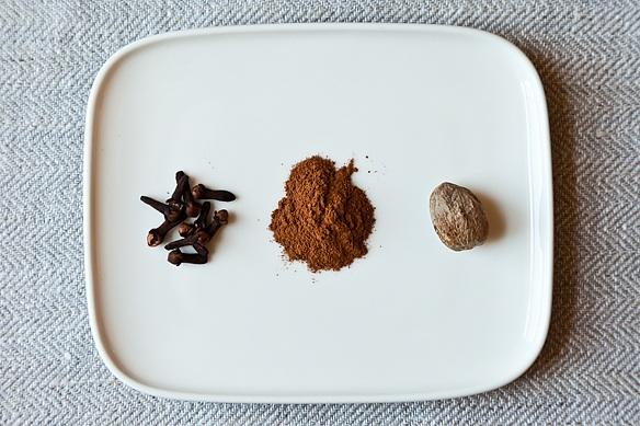 Cinnamon + Nutmeg + Clove