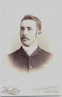 Cabinet Card Portrait of a Gentleman