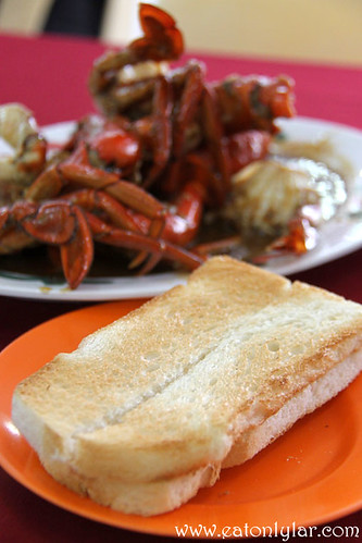 Toasted Bread, Restoran Fatty Crab