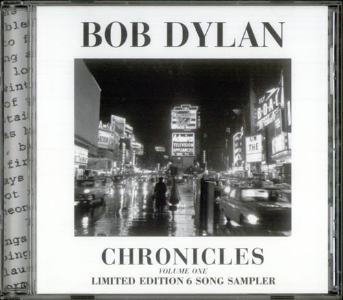 Bob Dylan Chronicles Vol.1 Sampler CD