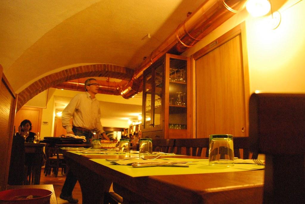 Dinner At Osteria del Borgo