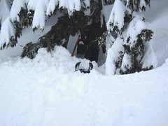 Tyler's & Ryan's Snow/Tarp Campsite