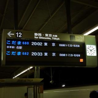 豊橋駅のホーム