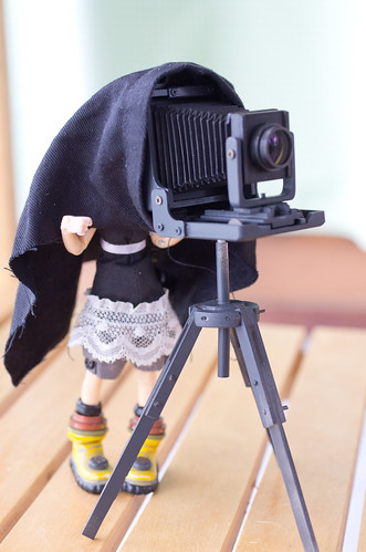 Handmade 1/12 scale technical camera producing