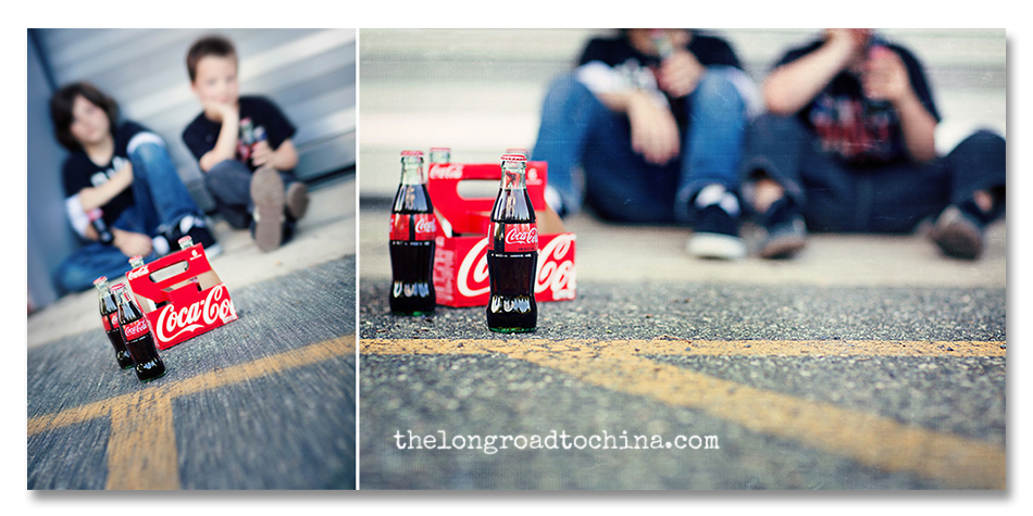 coke collage