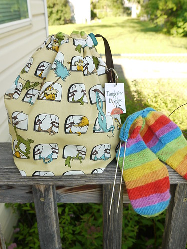 The cutest knitting bag ever!!