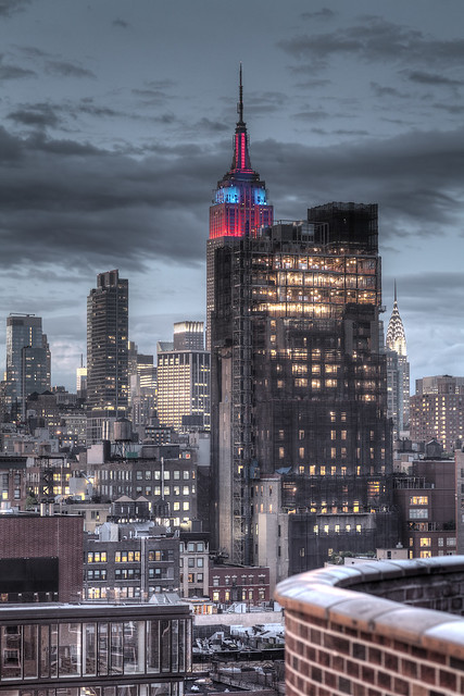 Empire State Building - Amazing Spiderman HDR