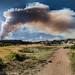 Smoke Plume by Russ W Jackson