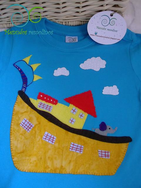 Camiseta Casa del barco elefante