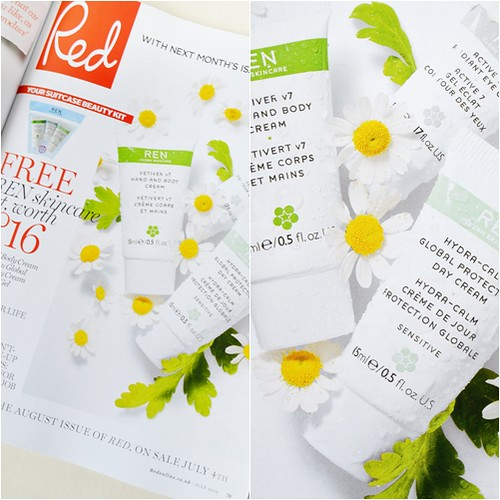 Red mag REN freebie July 2012