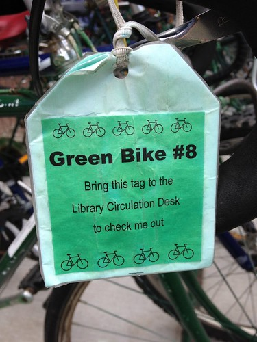 library lends bikes!