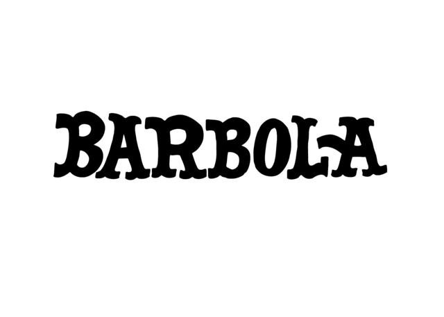 Header of barbola