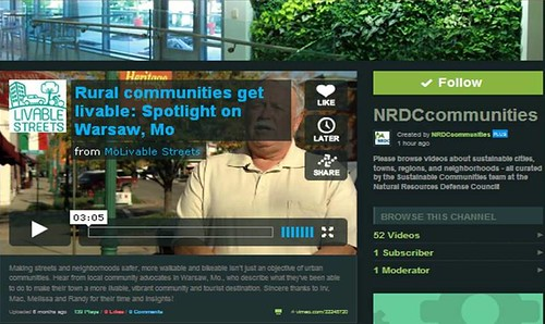 A slice of the NRDCcommunities Vimeo channel (by: FK Benfield)