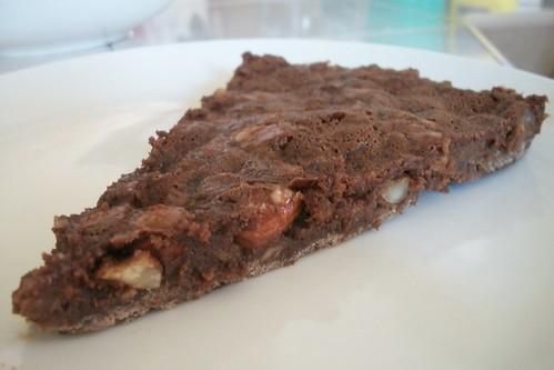 Tarta de chocolate con praliné de almendra