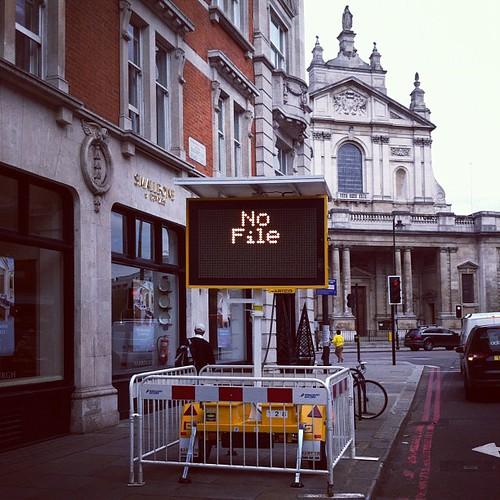 No file.