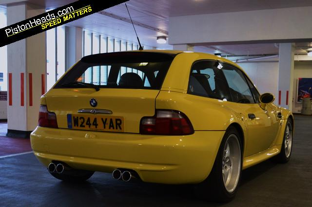 2000 BMW Z3 M Coupe | Dakar Yellow | Black | RHD