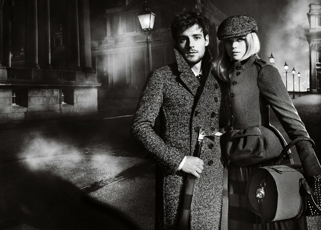 5 Burberry Autumn Winter 2012 Ad Campaign featuring Gabriella Wilde and Roo Panes