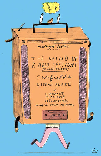 WIND UP RADIO POSTER